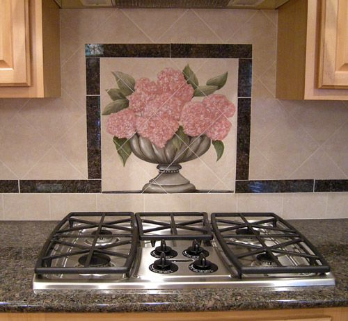 8 Best Hand Painted Tile Images On Pinterest