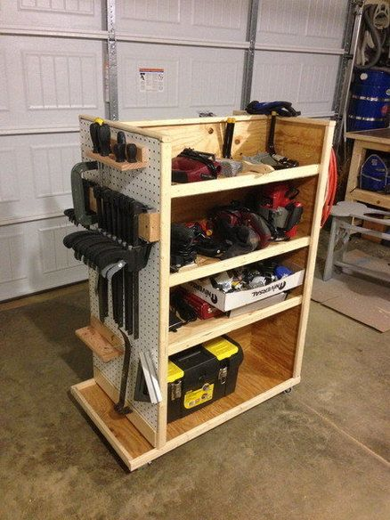Best 25 Tool Cart Ideas On Pinterest Garage Workshop