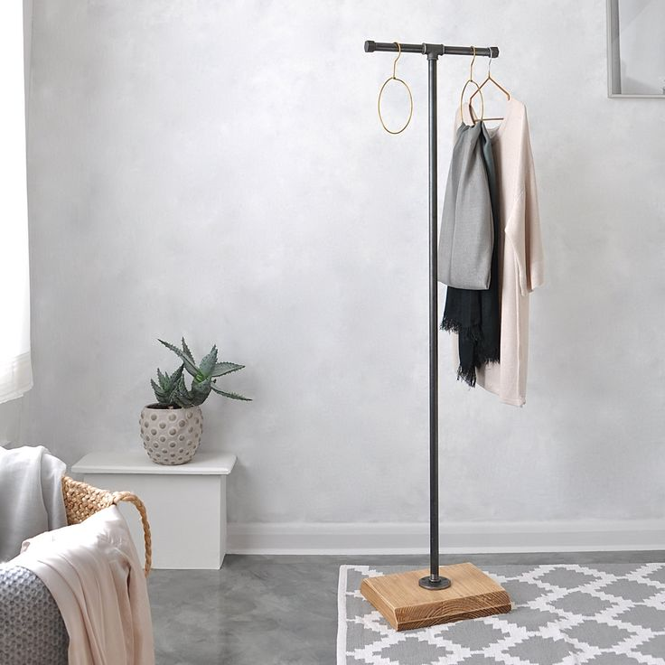 Industrial Coat And Clothes Stand by IndustrialByDesignUk on Etsy