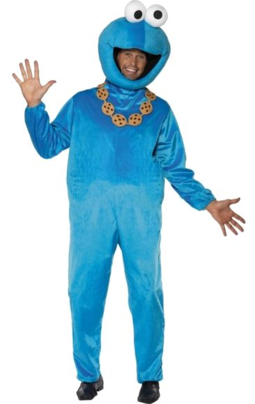 Adult Official Cookie Monster Costume | Jokers Masquerade