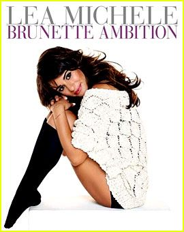 Lea Michele Reveals 'Brunette Ambition' Book Cover (Photo) ~ She is such a great inspiration and role model for girls everywhere. To have gone through the tragedy of losing someone important to her and come out of that in a good place is truly amazing for a woman her age, especially in her industry.