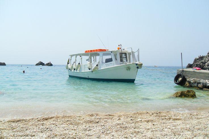 Sarakiniko Beach. Parga. Ionian Sea. Greece. Paradise.