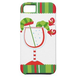 Christmas Elf Cocktail iPhone 5 Case