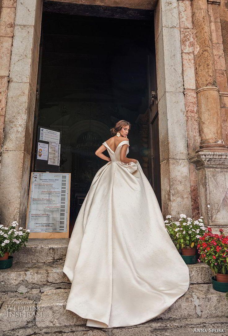 "Anna Sposa 2019 Wedding Dresses — ""Bella Sicilia"" Bridal Collection"