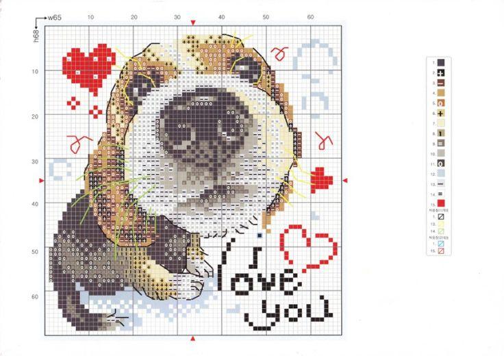 beagle met hartjes