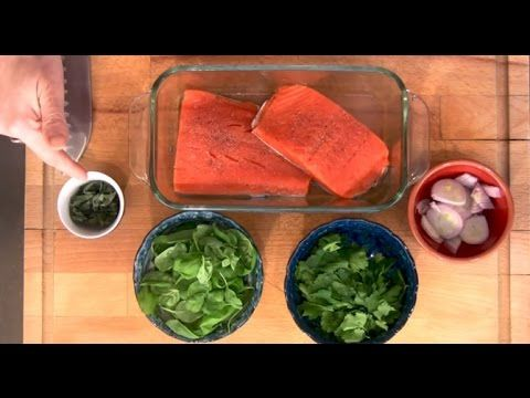 Delicious Salmon and Herb Recipe—Stay Healthy AND Beautiful! • Barbara Mendez Nutrition