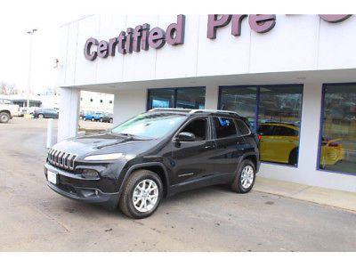 eBay: 2014 Jeep Cherokee Latitude 2014 Jeep Cherokee Latitude 31782 Miles Brilliant Black Crystal Pearlcoat Sport #jeep #jeeplife