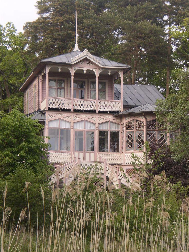 Old Villa in Ruissalo,Turku