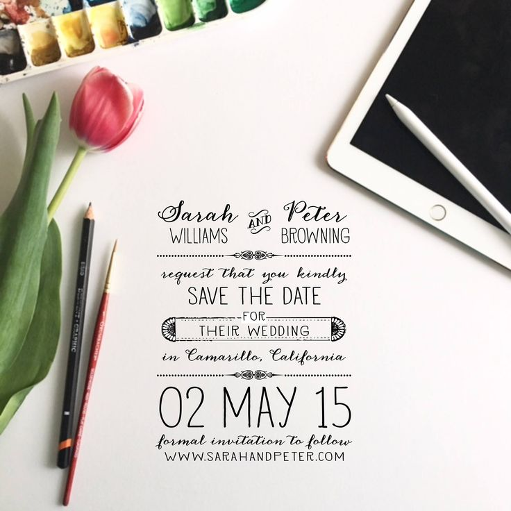 Oh So Sweet Save the Date Stamp by theRUBBERpress on Etsy https://www.etsy.com/listing/166261235/oh-so-sweet-save-the-date-stamp
