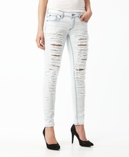 Fia bleached jeans Ice, Gina Tricot