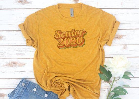 Senior shirt, Class of 2020, High School Senior, Seniors 2019, Seniors 2020, Graduation, Vintage, Retro