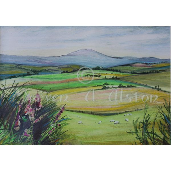 Queen's View by Morven A. Alston. Artwork created in: Royal Deeside