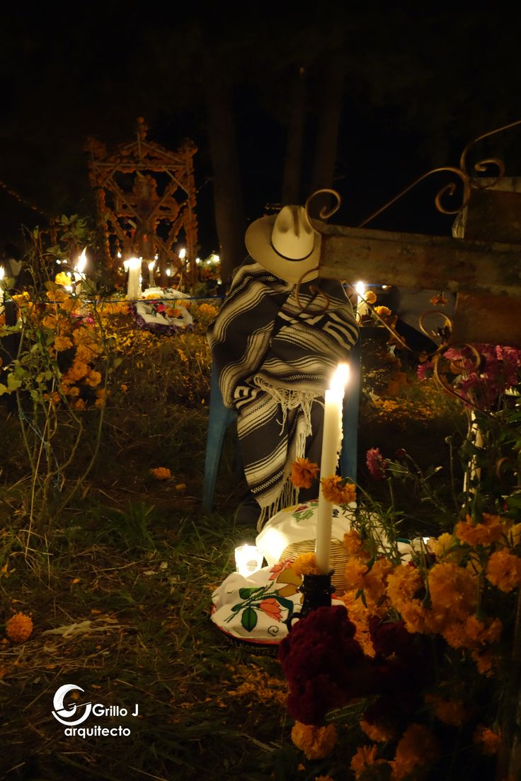 Noche de muertos, Arocutín, Lago de Pátzcuaro, Michoacán
