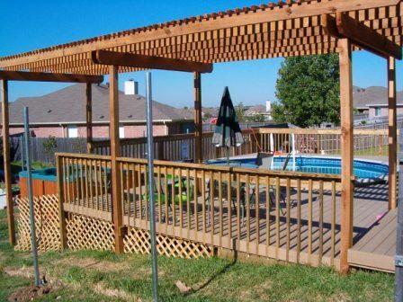 104 best above ground pool decks images on pinterest backyard ideas patio ideas and pool ideas