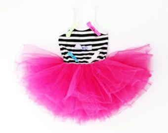 Girls Tutu Dress Pink. Tutu Dress. Ballet Dress.