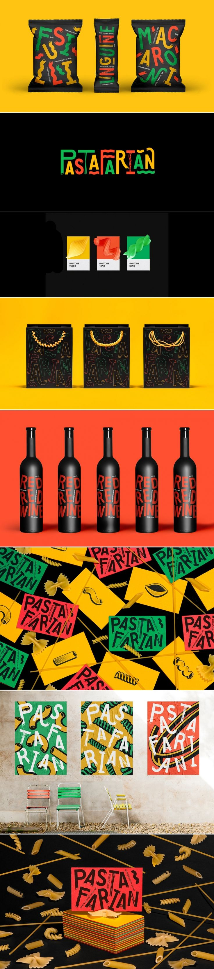We Love This Fun Concept for Pasta Packaging and Branding — The Dieline   Packaging & Branding Design & Innovation News