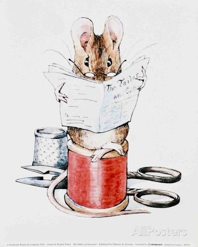 The Tailor of Gloucester Posters by Beatrix Potter - AllPosters.co.uk