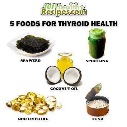 </p> <p>Foods that stimulate the thyroid