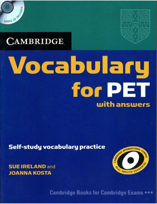 77 Pet Ideas Cambridge English English Exam Cambridge Exams