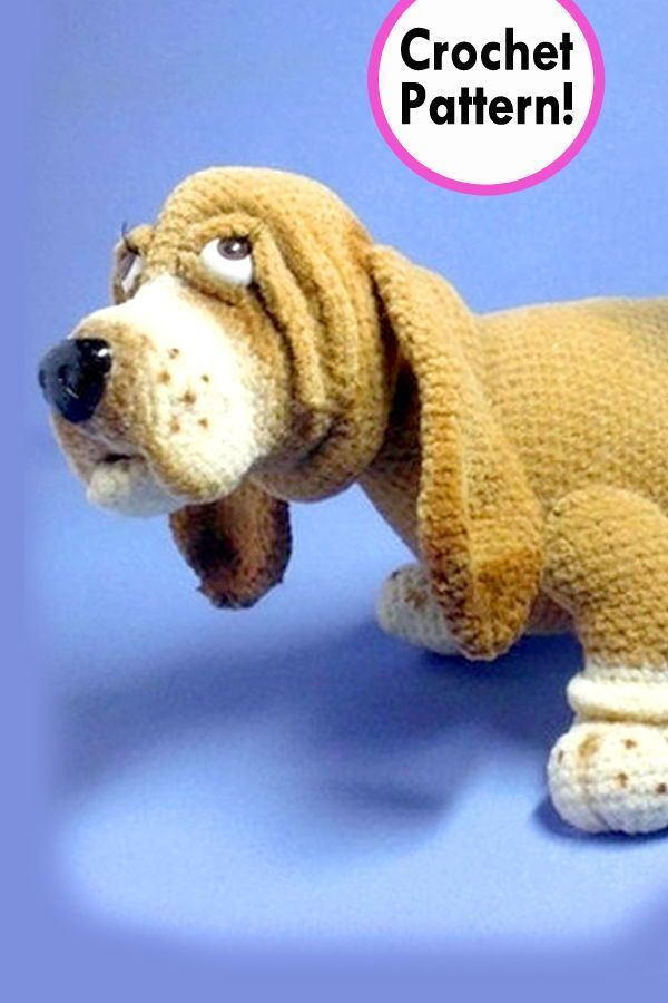 100 Amigurumi Crochet Dogs Patterns - Amigurumi | Crochet dog ... | 900x600