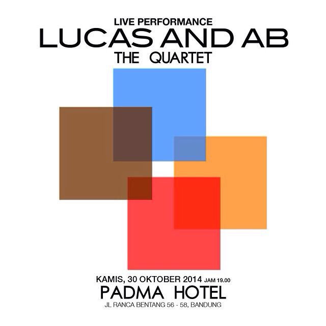 Lucas and AB, The Quartet live performance at Padma Hotel.