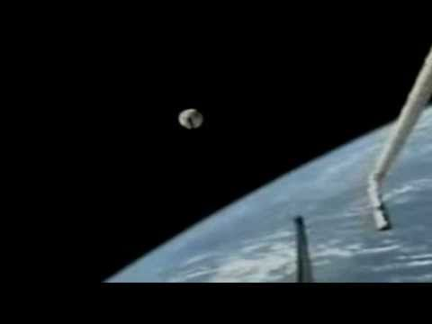 """Top Secret NASA Alien UFO video discovered on nasa website 2011-07 - hollywood f/x or real? if real, wow, beautiful morphing liquid meta-like ; ) • Nasa's official reply """"We can neither confirm or deny this is from any space shuttle mission...Furthermore, we are not at liberty to discuss or comment on what the object in question might be..."""" - isn't it great that WE PAY through taxes and yet the gov. if involved, does not reveal to us what is our earned right to know?!"""