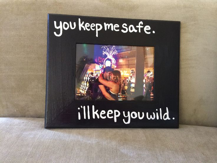 DIY picture frame I made for my boyfriend #diy #boyfriendgift