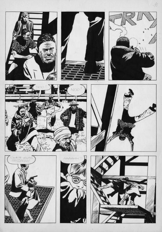 Attilio Micheluzzi Johnny Focus Comic Art