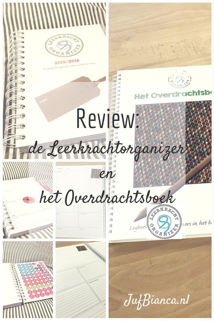 Review: leerkrachtorganizer en het overdrachtboek - jufBianca.nl