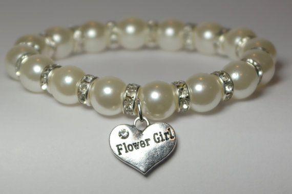 flower girl bracelet will you be my flower by awesomeyoujewelry