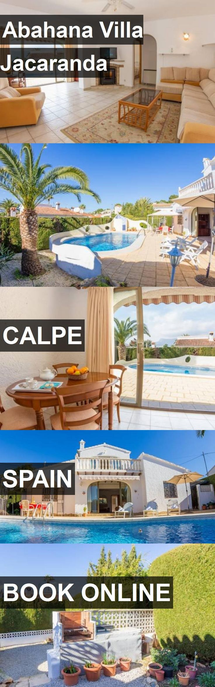 Hotel Abahana Villa Jacaranda in Calpe, Spain. For more information, photos, reviews and best prices please follow the link. #Spain #Calpe #AbahanaVillaJacaranda #hotel #travel #vacation