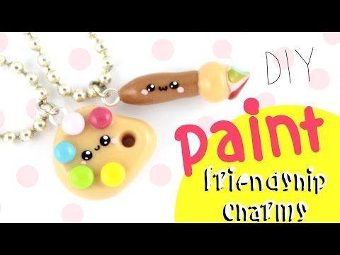♡ DIY PANCAKE Cute FRIENDSHIP Charms! ♡   Kawaii Friday - YouTube