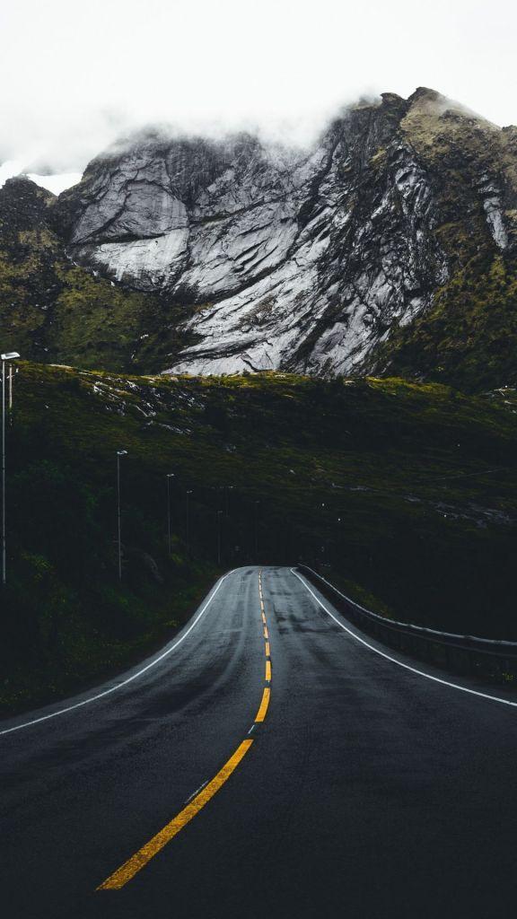 Nature Wallpaper Hd 1080x1920 Fresh Road Steep Nature Highway