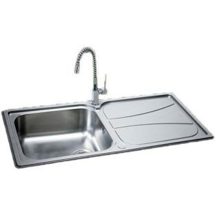 Carron Phoenix Zeta 100 Undermount Sink Reversible Stainless Steel From Homebase Co