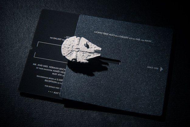invitacion star wars