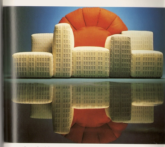 New York Sunset Sofa, des. Gaetano Pesce 1980
