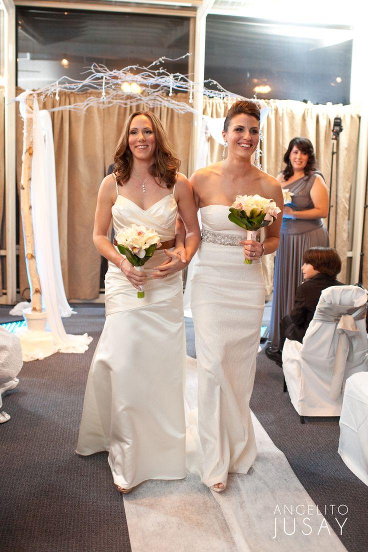 Ceremony gay lesbian perfect planning same sex wedding-3794