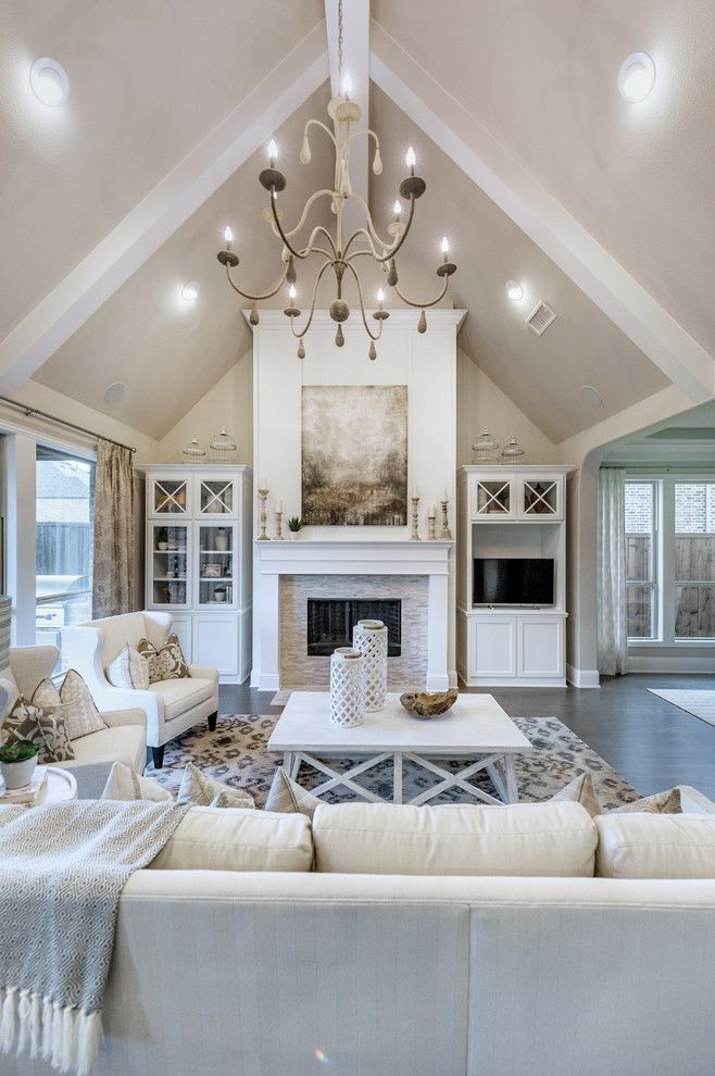 Sensational Shaddock Homes decorating ideas for Living Room Transitional design ideas with
