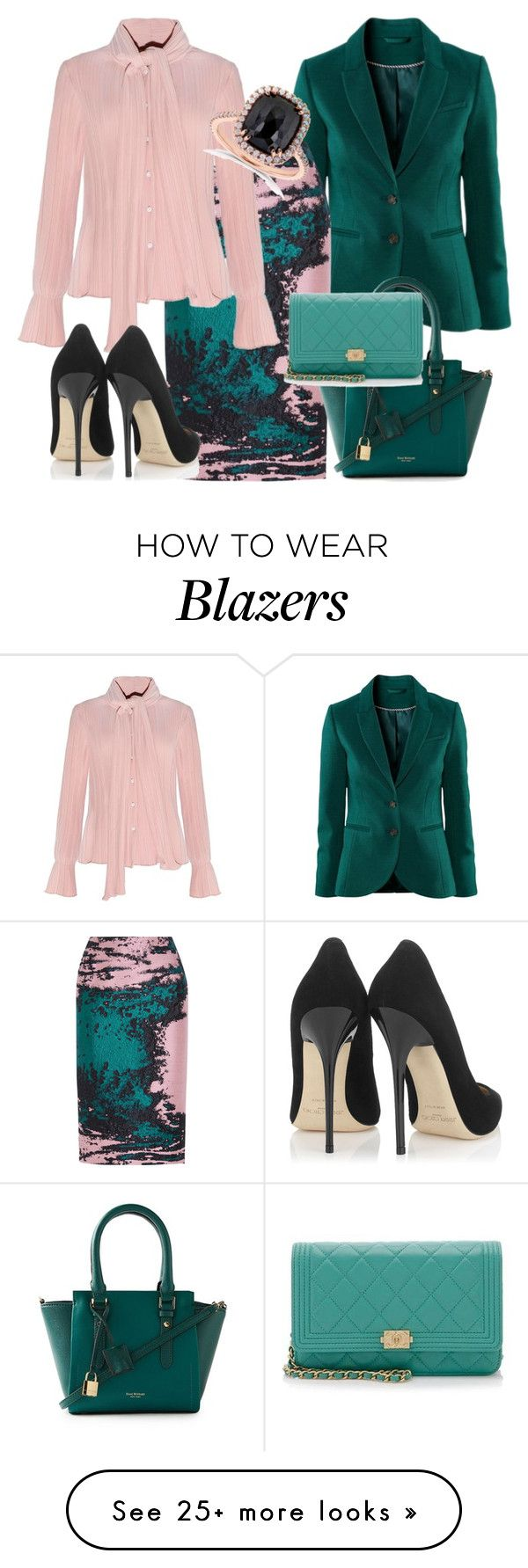 """""""Untitled #228"""" by gulli-jules on Polyvore featuring MSGM, Isaac Mizrahi, Chanel, Kobelli, Jimmy Choo, women's clothing, women, female, woman and misses"""