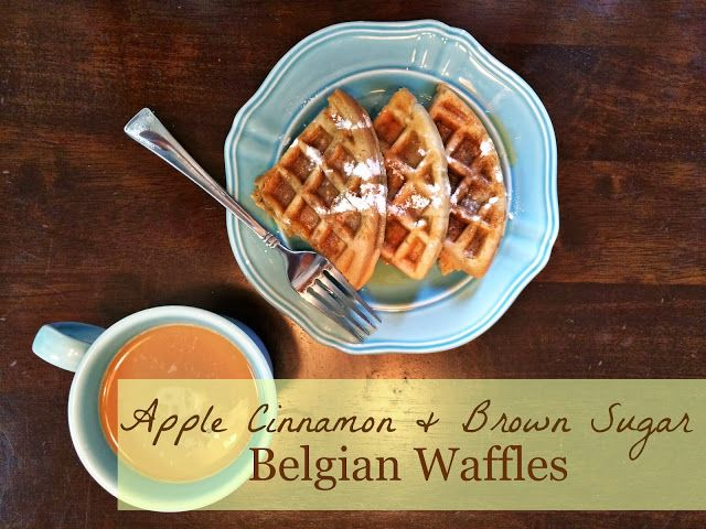 liege belgian waffles with pearl sugar spiced brown sugar waffles ...