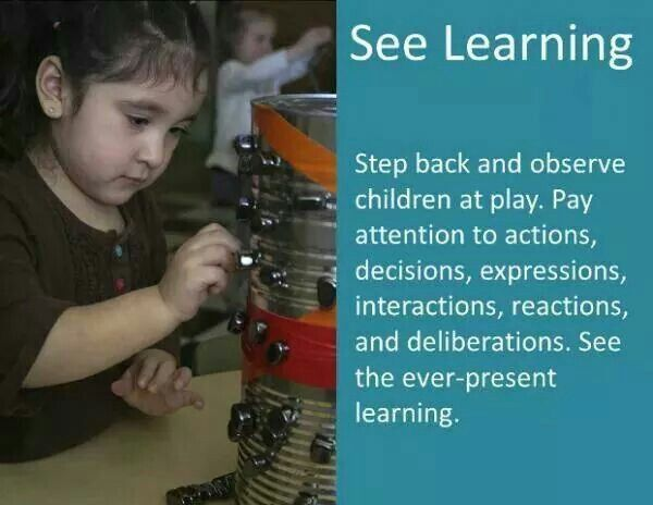 children by observing them at play Inspiring quotes on child learning and development share  teacher could feel while observing,  deny children play, we are denying them the right to understand.