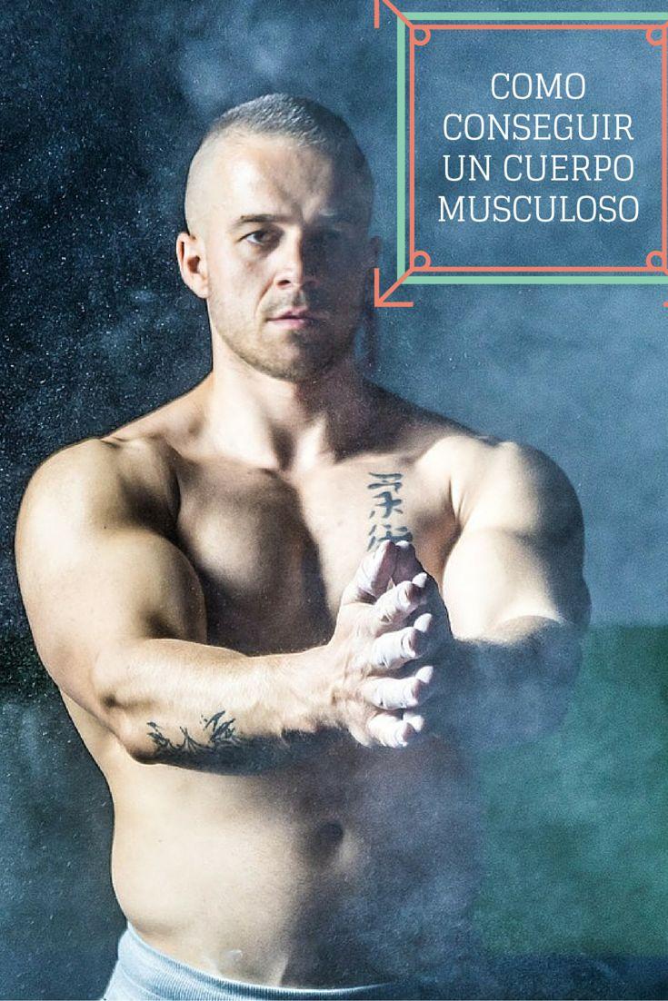 Descubre como conseguir un cuerpo musculoso,  Construir masa muscular no es imposible.