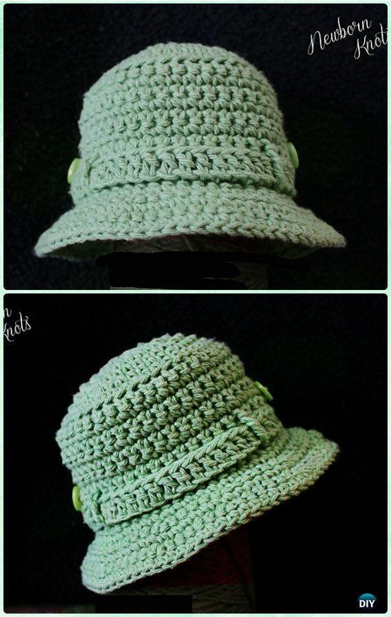 Crochet Fishing/Tilly Hat Free Pattern - #Crochet; Boys Sun Hat Free Patterns