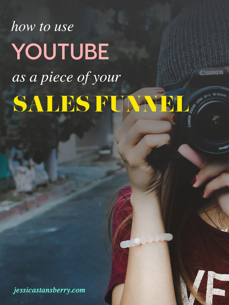 How to use Youtube as a piece of your sales funnel // Jessica Stansberry