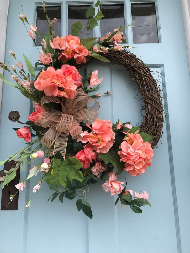 Wreaths, wreaths for front door, everyday, all season, grapevine, spring, summer, farmhouse, primitive, all year long wreaths