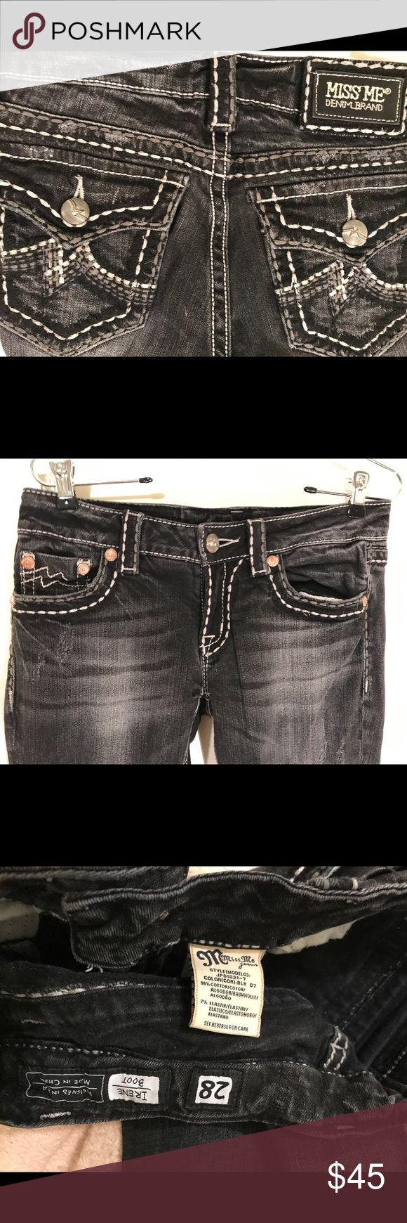 Miss Me boot cut jeans Miss Me boot cut jeans Miss Me Jeans Boot Cut