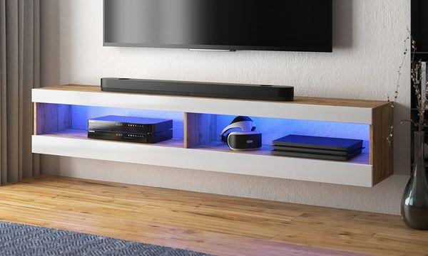 Mueble Tv Viansola Con Luces Led Muebles Para Tv Muebles Para Televisores Muebles