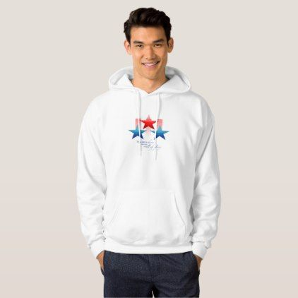 Patriotic Hero Wall of Glory Thank You Military Hoodie - #customizable create your own personalize diy