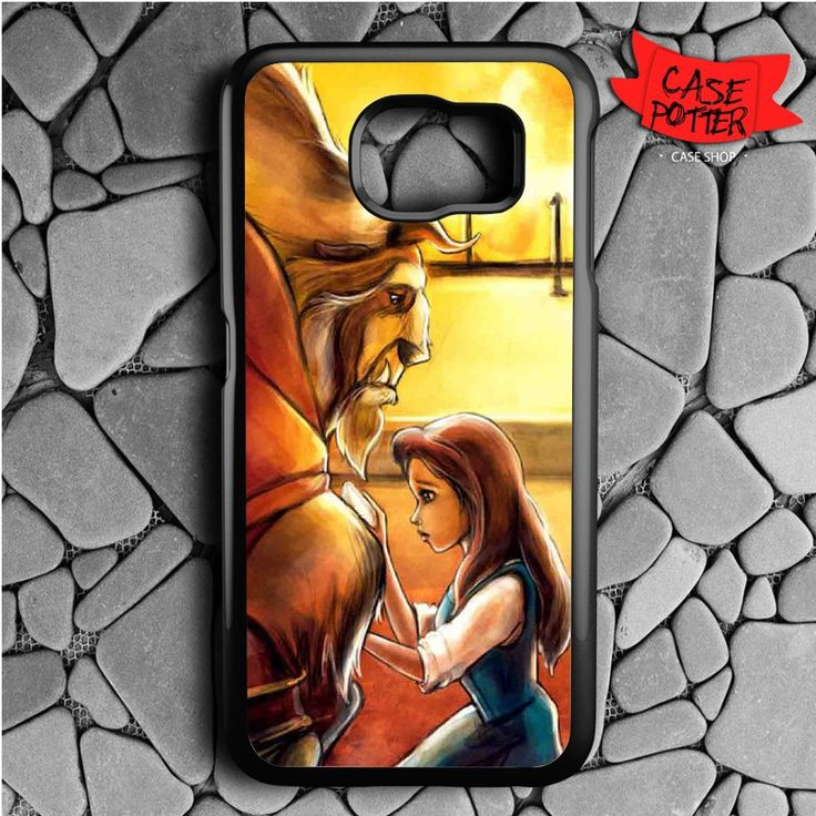Beauty And The Beast Art Samsung Galaxy S7 Black Case