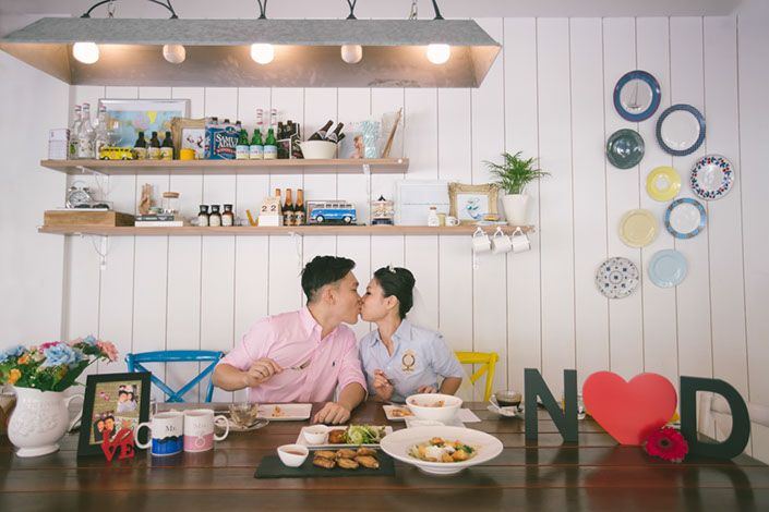 Pre-Wedding shoot at W39 Cafe